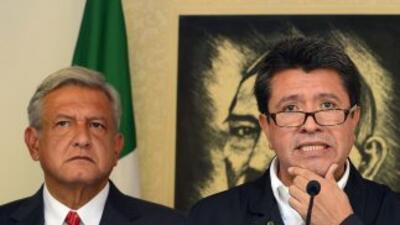 El candidato de las izquierdas a la Presidencia de México, Andrés Manuel...