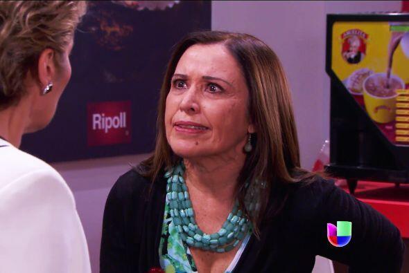 Pero qué bueno que se defendió doña Lupita, así le quedará claro que no...
