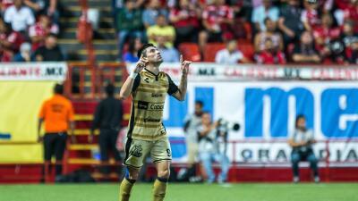 Héctor Mancilla anotó el gol del triunfo.