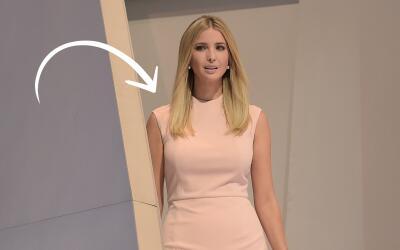 Ivanka Trump lanzó su propia marca de ropa y accesorios en septiembre de...