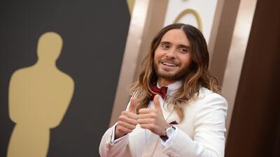 El actor Jared Leto mandó un mensaje a Venezuela en los premios Oscar