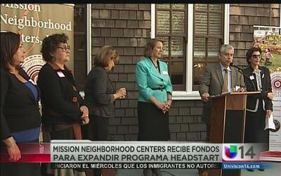 Mission Neighborhood Centers recibe fondos para expandir programa Headstart