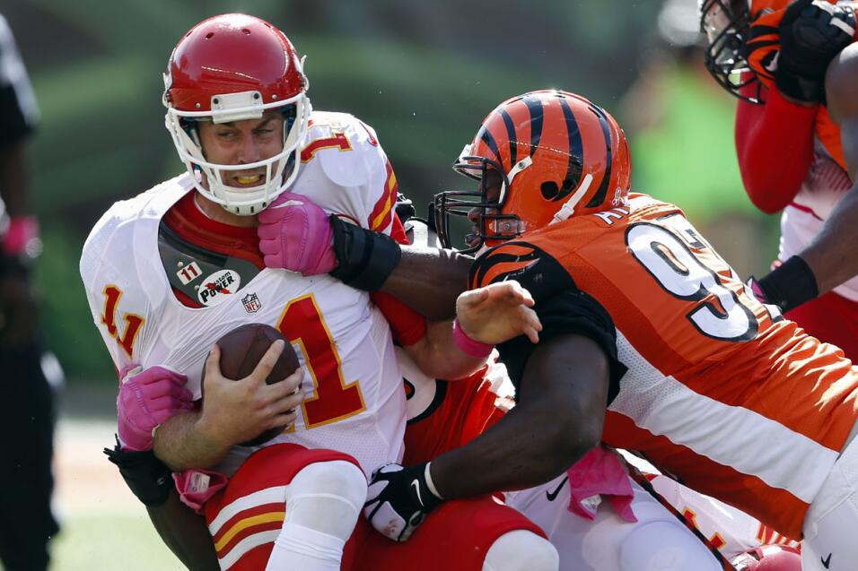 Los Cincinnati Bengals permanecen invictos al derrotar a los Kansas City...
