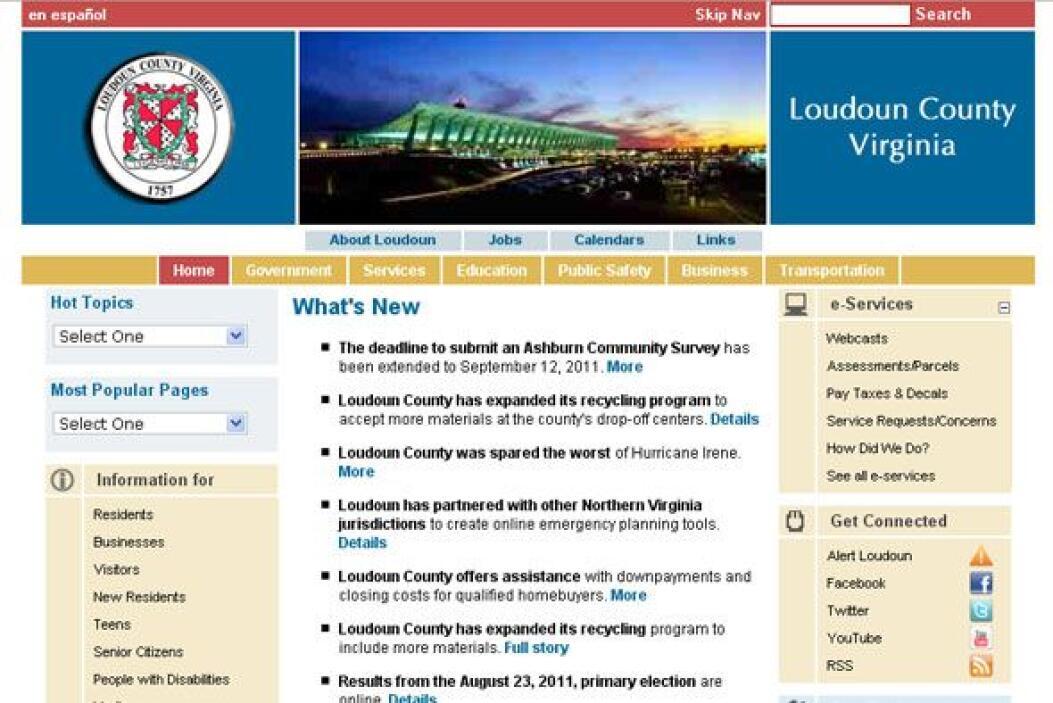 2. LOUDOUN COUNTY, VA.- Con un excelente crecimiento del empleo, 75.3% d...