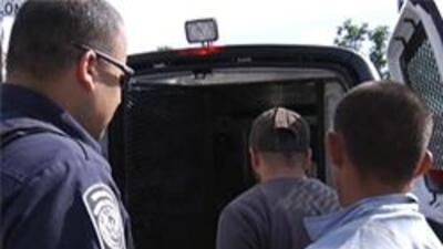 Inmigrante arrestado en la casa de seguridad