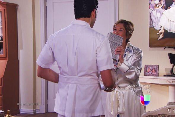 ¿No pudo conseguirse un mejor enfermero doña Greta?