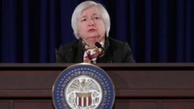 Janet Yellen,presidenta de la Reserva Federal.