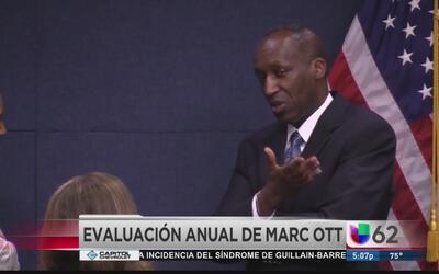 Concilio de la ciudad discute desempeño de Marc Ott