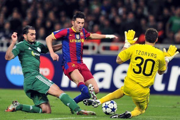 Se completó una jornada más de la Liga de Campeones de Europa, en la que...
