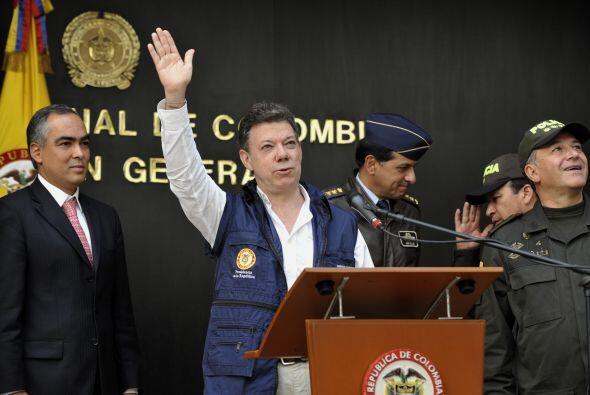 Santos se despidió orgulloso y ratificó que el gobierno pa...