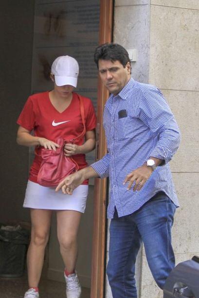 La colombiana estuvo vuelta loca con su segundo embarazo.