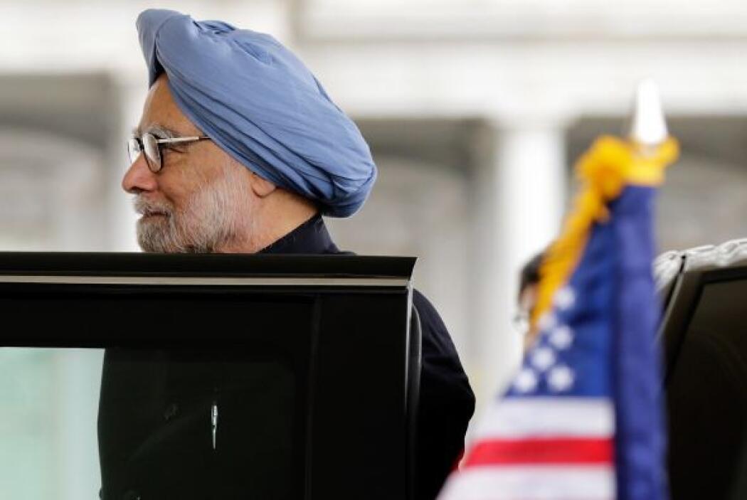 La visita del primer ministro indio Manmohan Singh a la Casa Blanca en W...