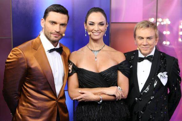 Los tres implacables jueces lucieron elegantes y sobrios, no cabe duda q...