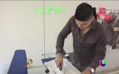 El cantante de la Banda Carnaval ahora se dedica a lavar y planchar
