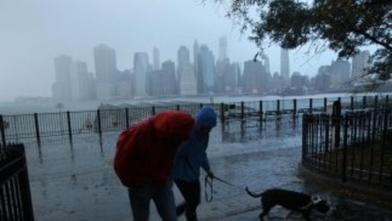 Nueva York tiene ahora los pies en el agua, pero apenas el verano pasado...