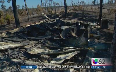 Condiciones climáticas aumentan riesgo de incendios en el centro de Texas