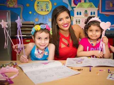 Pamela Silva Conde visitó a los angeles del hospital St. Jude.&nb...