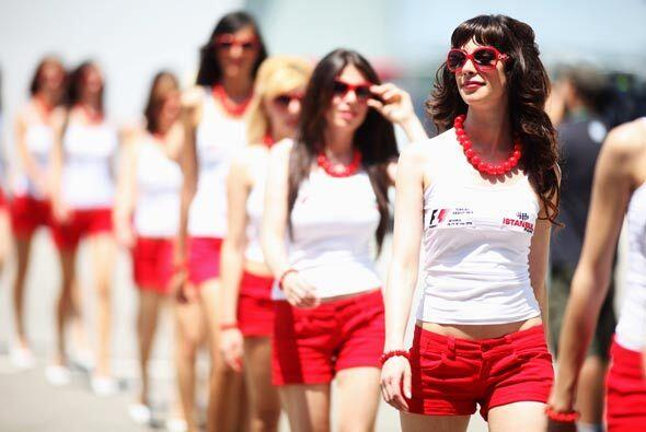 La belleza de las mujeres de Turquia fue el marco de bienvenida para la...