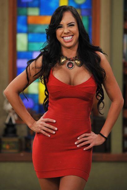 La colombiana Bárbara es muy alegre... ¿Alguna duda?