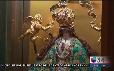 Virgen de San Juan de Los Lagos visita a los inmigrantes en Los Ángeles