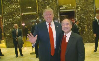 Banquero japonés se reúne con Trump y promete crear 50,000 empleos en EEUU