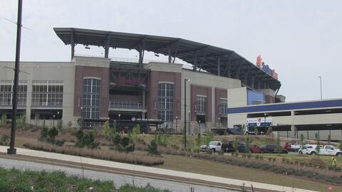 Todo listo para el primer partido de Los Braves en su nuevo estadio