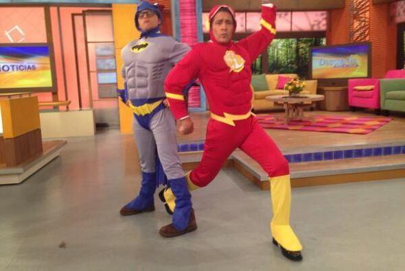 """""""Los superhéroes llegaron a @DespiertaAmeric, ¿qué opinas?"""", compartió J..."""