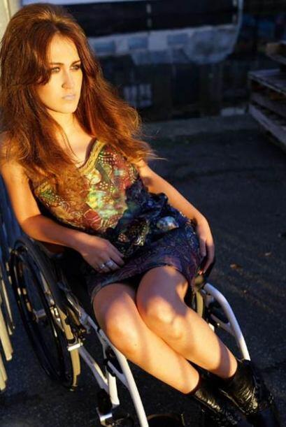Esta chica nos hace replantear el concepto que tenemos por discapacidad,...