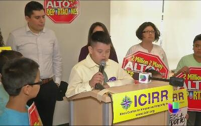Hijos de migrantes piden frenar deportaciones en el día del Padre