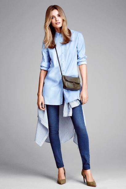 ¿Y qué tal los 'jeans skinny'? Este fabuloso tipo de pantalones le darán...