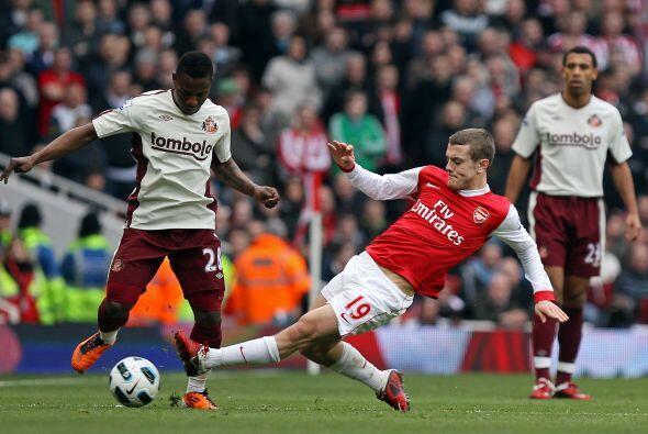 Arsenal jugó frente al Sunderland y no pasó nada. Fue un empate a 0.
