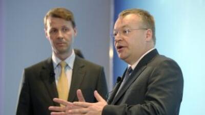 Risto Siilasmaa (izquierda) es el nuevo presidente del consejo de admini...