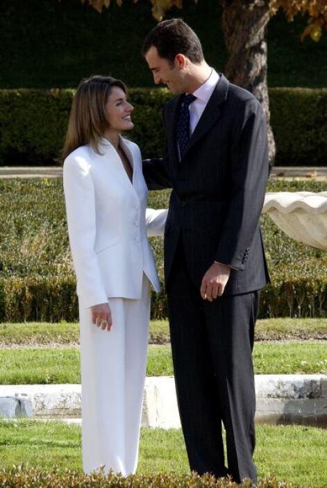Letizia conoció al Príncipe de Asturias en una cena que Pedro Erquicia,...