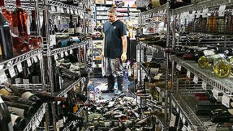 El terremoto de California de la madrugada del 24 de agosto golpeó el co...