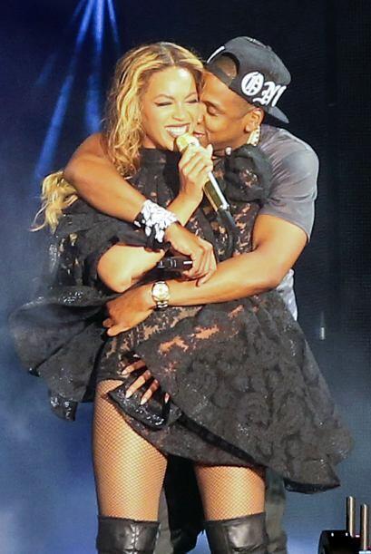 DE GIRA Y ENAMORADOS. Otro top moment de Beyoncé y Jay Z fue el a...