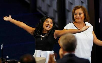 Karla Ortiz y su madre Francisca Ortiz