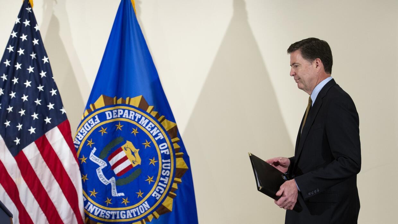 El FBI no halló cargos apropiados contra Hillary Clinton por el caso de...