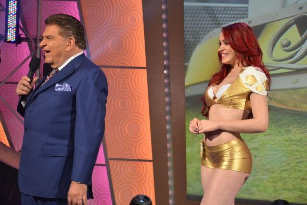 Karen fue una de las chicas que resultó ganadora de este candente concurso.