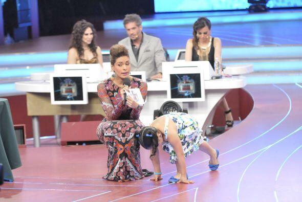 Fátima fue la siguiente en mostrar sus habilidades para cumplir retos rá...