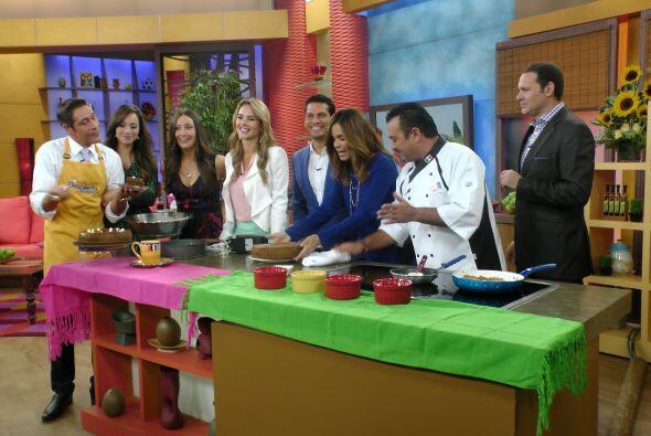 El Chef Emilio Domínguez nos enseñó a preparar este delicioso postre.