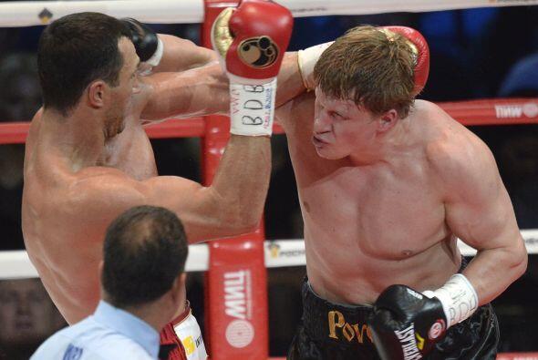 La pelea había levantado grandes expectativas y se veían p...