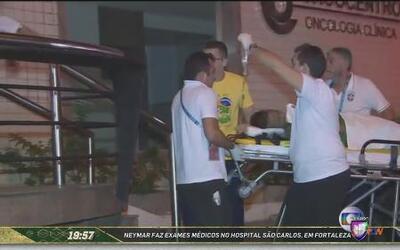 Llegada de Neymar al Hospital