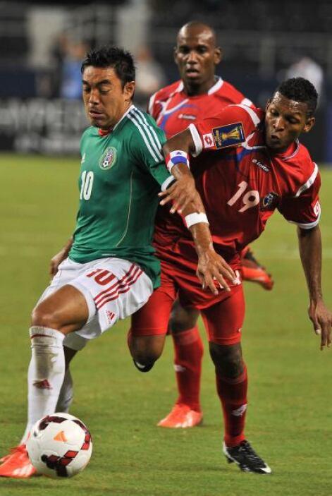 Marco Fabián fue un jugador de destellos en la Copa Oro, apareció solame...
