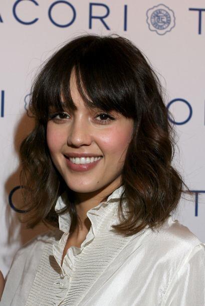 """Una vez más la actriz de """"Honey"""" sorprendió a todos al cortar su cabello..."""