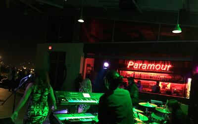 Celebrities and listeners got to ring in 2017 with 98.5 The Beat at Para...