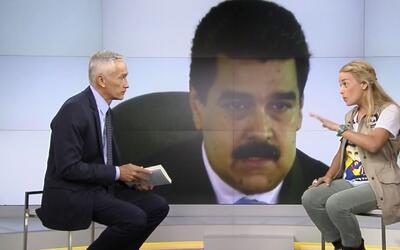 """Lilian Tintori: """"Quien tiene preso a Leopoldo es Maduro, es una orden de..."""