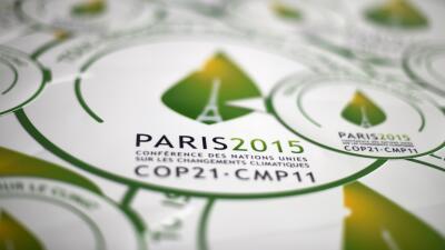 Logo de la cumbre de París.