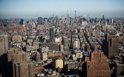 Temperaturas cálidas y sol radiante en Nueva York