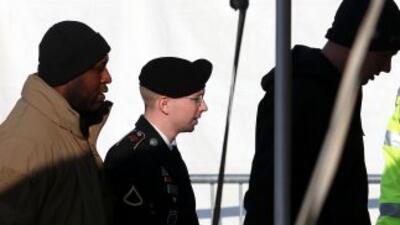 El soldado Bradley Manning, acusado de filtrar miles de documentos a Wik...