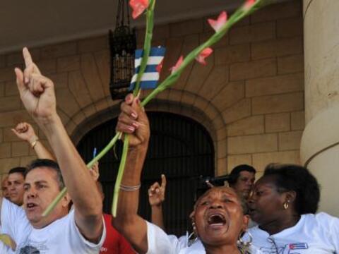 El gobierno cubano liberó este fin de semana al primero de trece presos...